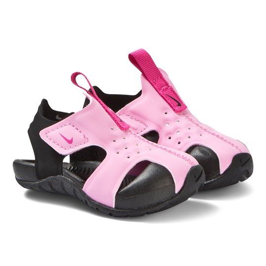 NIKE Pink Nike Sunray Protect 2 Sandals 602
