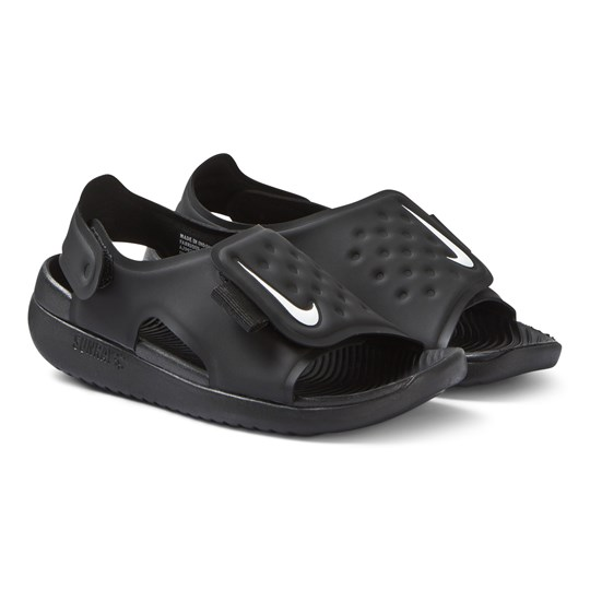 NIKE Black Nike Sunray Adjust 5 Sandals 001