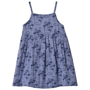 Image of Wynken Blue All Over Flamingo Dress 10 years (3125274515)