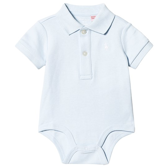Ralph Lauren Light Blue Jersey Polo Body 002