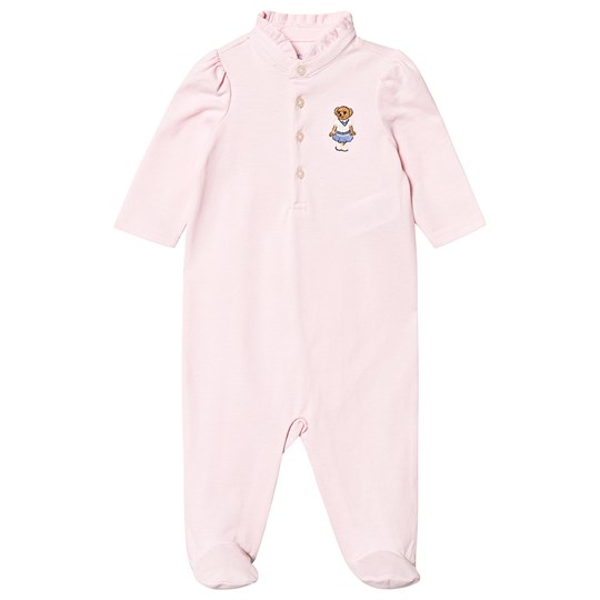 Ralph Lauren Pink Footed Baby Body 001