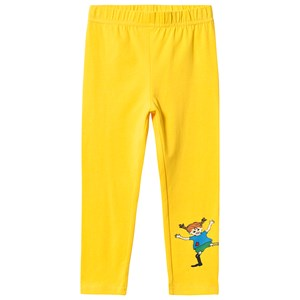 Image of Pippi Långstrump Pippi Leggings Yellow 116 cm (5-6 år) (3135225707)
