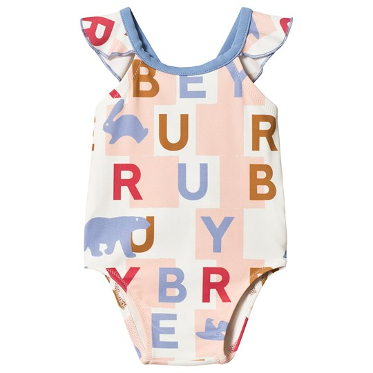 Burberry Branded Crina Swimsuit Multi A2180