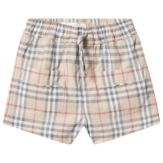 Burberry Check Conroy Shorts Beige A2205