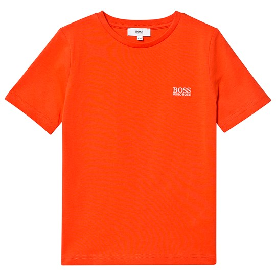 BOSS Classic Branded T-shirt Röd 982