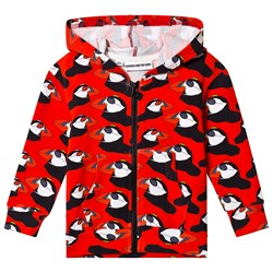 Gardner and the gang Berta The Bird Hoodie Red