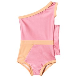 Gardner and the gang Graphic Flounce Swimsuit Pink