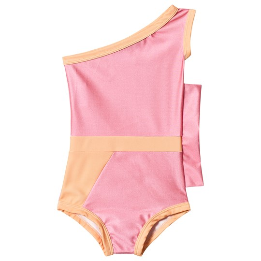 Gardner and the gang Graphic Flounce Swimsuit Pink Pink