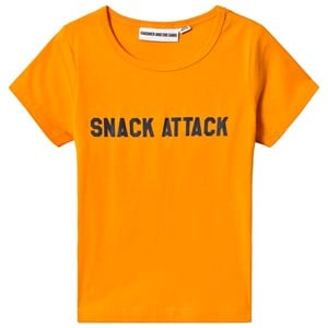 Image of Gardner and the gang Snack Attack Tee Mustard 4-6 år (3125344679)