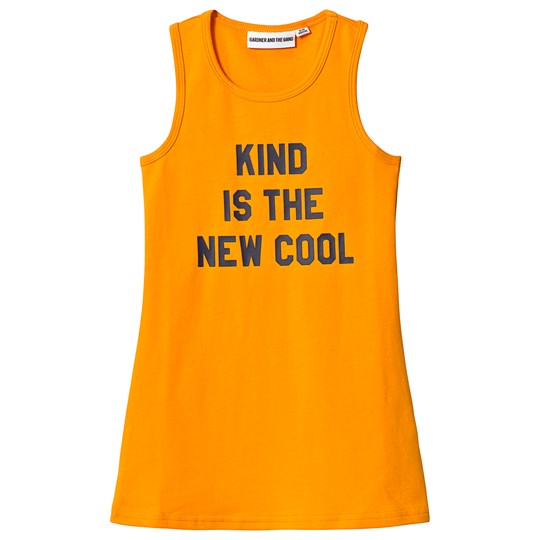 Gardner and the gang ind Is The New Cool Tank Dress Mustard Mustard