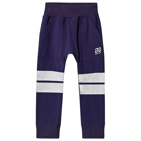Gardner and the gang Hang Out Sweatpants Purple Blue
