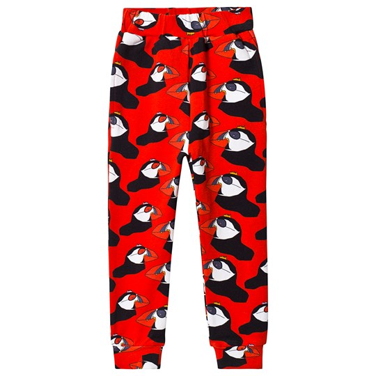 Gardner and the gang Berta The Bird Sweatpants Red Red