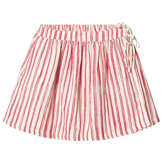 Little Creative Factory Bamboo Skirt Red Stripe Red Stripe