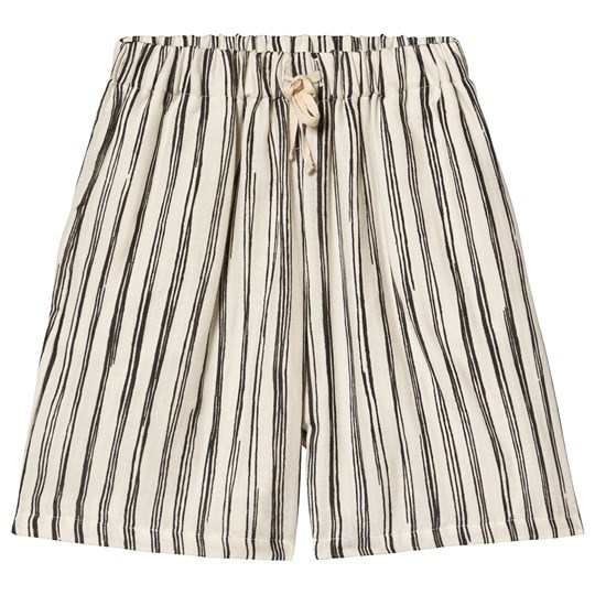 Little Creative Factory Bamboo Shorts Black Stripe Black stripe
