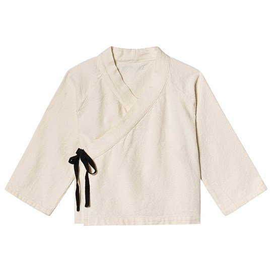 Little Creative Factory Origami Short Wrap Jacket Chalk Chalk