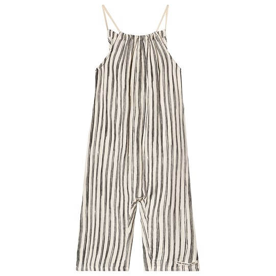 Little Creative Factory Bamboo Jumpsuit Black Stripe Black stripe