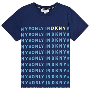 Image of DKNY All Over DKNY Tee Blue 10 years (3125270767)