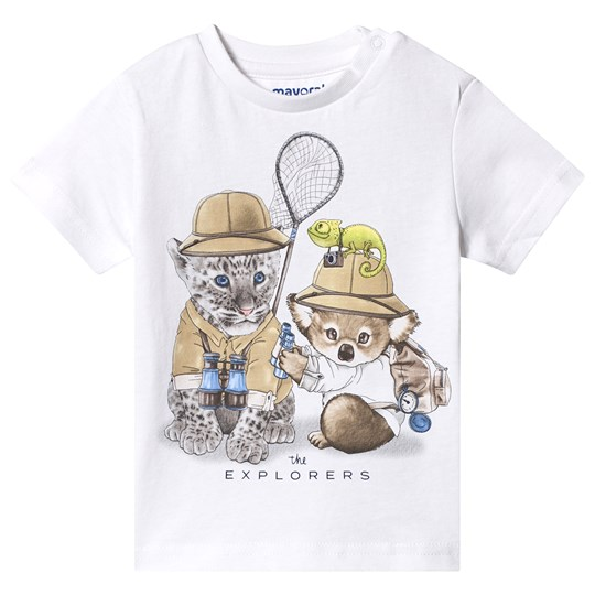 Mayoral Animal T-Shirt White 80