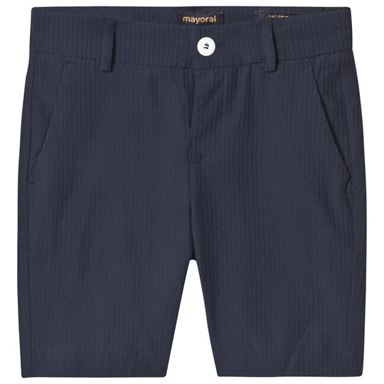 Mayoral Navy Formal Bermuda Shorts 2