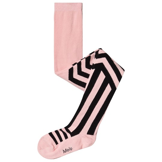 Molo Graphic Striped Tights Candy Floss Candy Floss