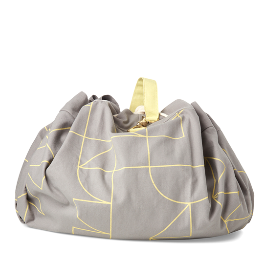KAOS Samlesak Storage Bag Grey/Yellow Grey/Yellow