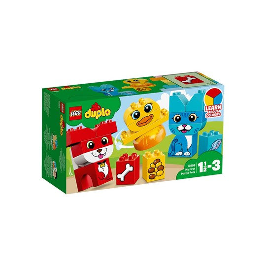 LEGO DUPLO Конструктор 10858 LEGO® DUPLO® My First Puzzle Pets Green