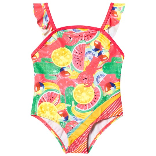 Billieblush Fruit Print Swimsuit Multi
