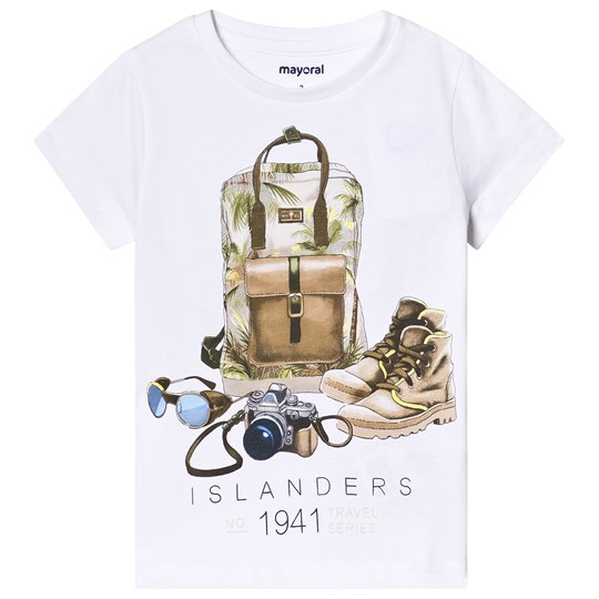 Mayoral Backpack T-Shirt White 88