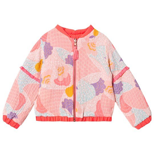 Billieblush Multi Colour Graphic Print Reversible Bomber Jacket