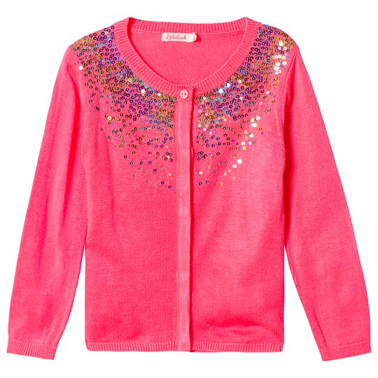 Billieblush Hot Pink Sequins Cardigan 499