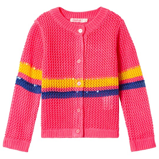 Billieblush Pink Stripes Cardigan 499