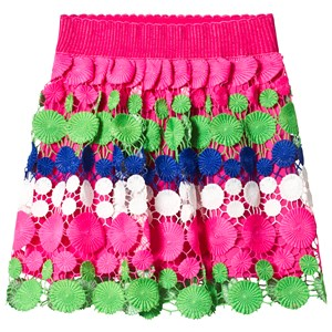 Image of Billieblush Multicolor Crochet Lace Skirt 10 years (3145066871)