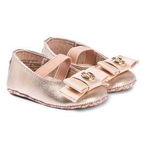 Image of Michael Kors Baby Ballerina Pumps Rose Gold 16 (UK 0) (3125283109)