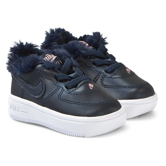 NIKE Force 1 Infant Sneakers Obsidian 400