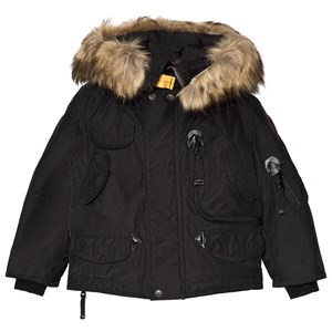Image of Parajumpers Black Right Hand Eco Jacket 10 years (3125263139)