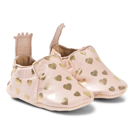 Easy Peasy Blumoo Lovely Crib Shoes Rose 397