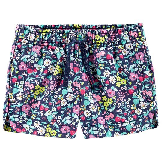 Carter's Floral Twill Shorts Navy PRINT (969)