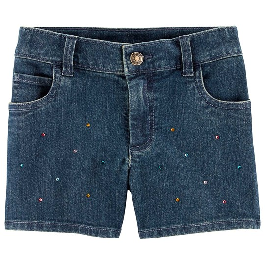Carter's Rhinestone Denim Shorts Navy DENIM (463)