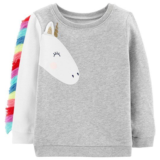 Carter's Unicorn Fleece Sweatshirt Grey HEATHER (053)