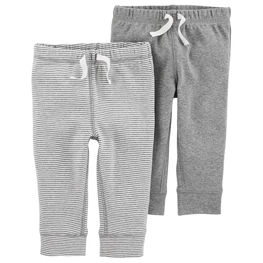 Carter's 2-Pack Pants Grey Stripe HEATHER (053)