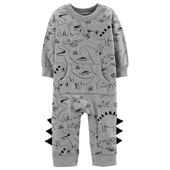Carter's Dinosaur Cotton Onesie Grey PRINT (969)