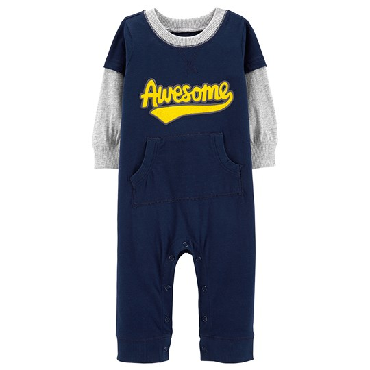 Carter's Awesome Layered-Look Onesie Navy NAVY (400)