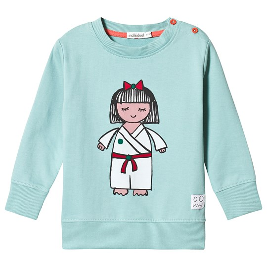 Indikidual Teal Karate Kid Sweatshirt NINJA
