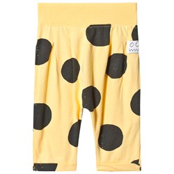 Indikidual Yellow Spotted Harem Pants