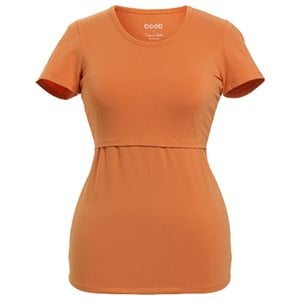 Image of Boob Classic Short Sleeve Top Tangerine Tan M (38/40) (3125324921)