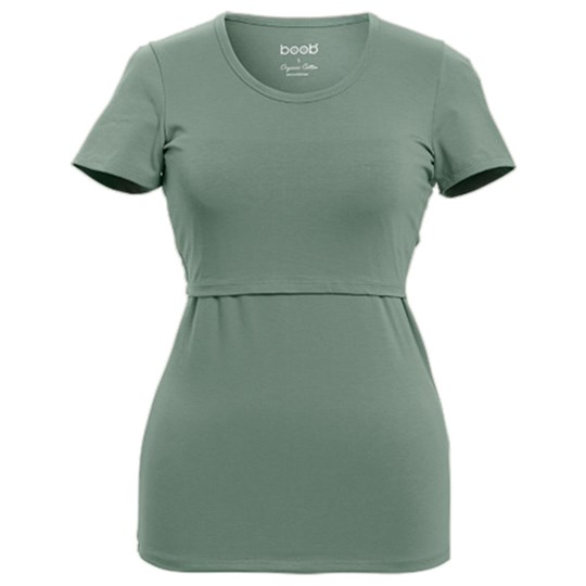 Boob Classic Short Sleeve Top Green Surf green surf