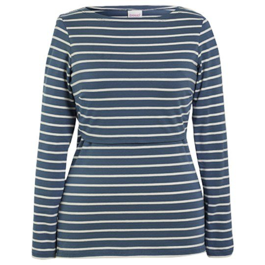 Boob Simone Long Sleeve Top Country Blue/Tofu country blue/tofu