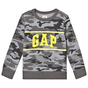 Image of GAP Camo Sweater Grey XXL (14 år) (3125360515)