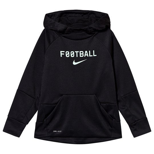 NIKE Black Nike Therma Football Hoodie 011