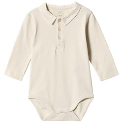 Noa Noa Miniature Baby Body Long Sleeve Turtledove